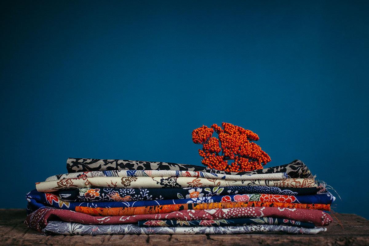 materie prime qualità natura - seta giapponese shibusa