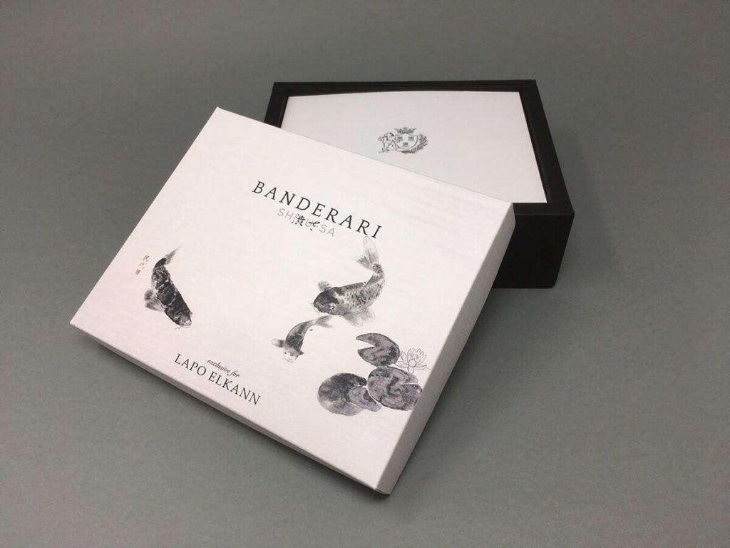 Il papillon di Lapo Elkann - Packaging esclusivi anche personalizzabili per il tuo papillon ideale per un regalo o per il papillon del tuo matrimonio