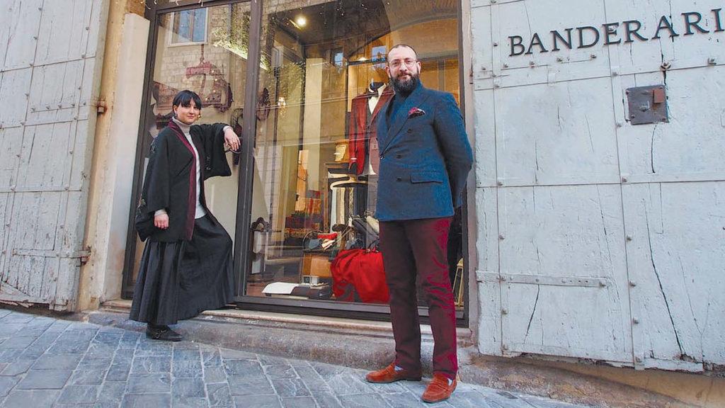 Corriere dell'Umbria 05-01-19 - Banderari - L'eleganza è made in Umbria