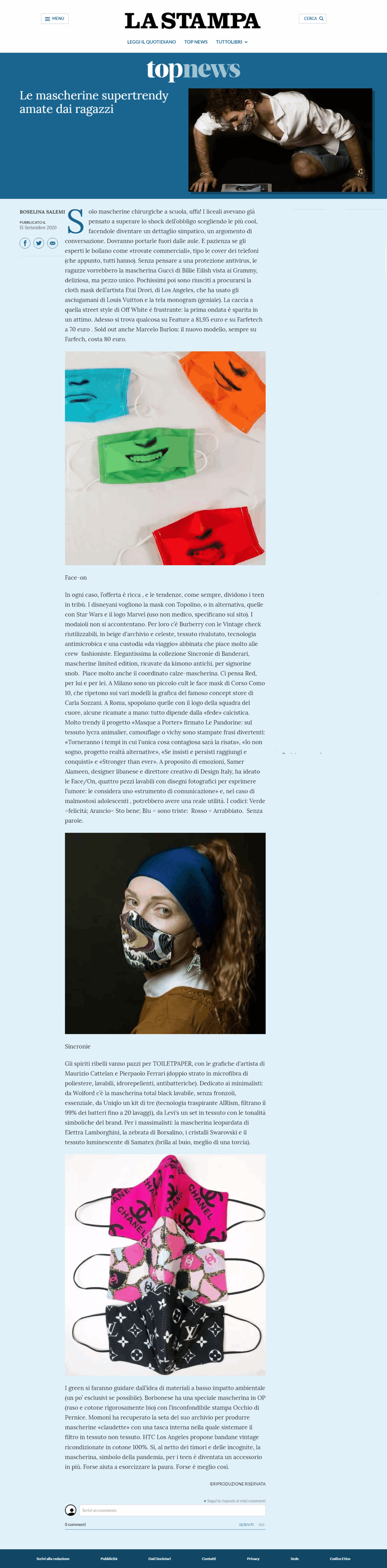 la-stampa-mascherine-banderari