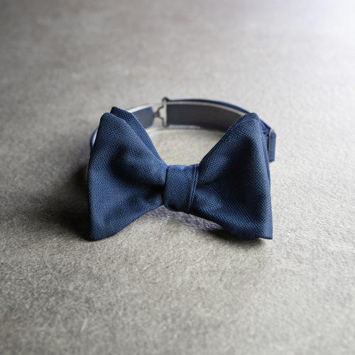 Papillon da uomo Banderari Casanova della collezione Luxus di colore blu scuro