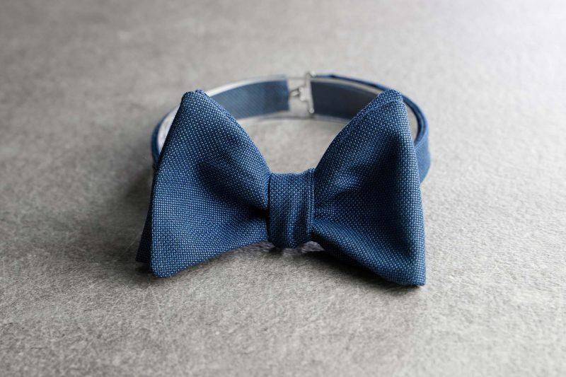 Papillon da uomo Banderari Casanova della collezione Luxus di colore blu chiaro