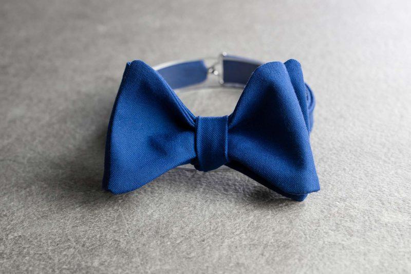 Papillon da uomo Banderari Il Magnifico della collezione Luxus di colore blu